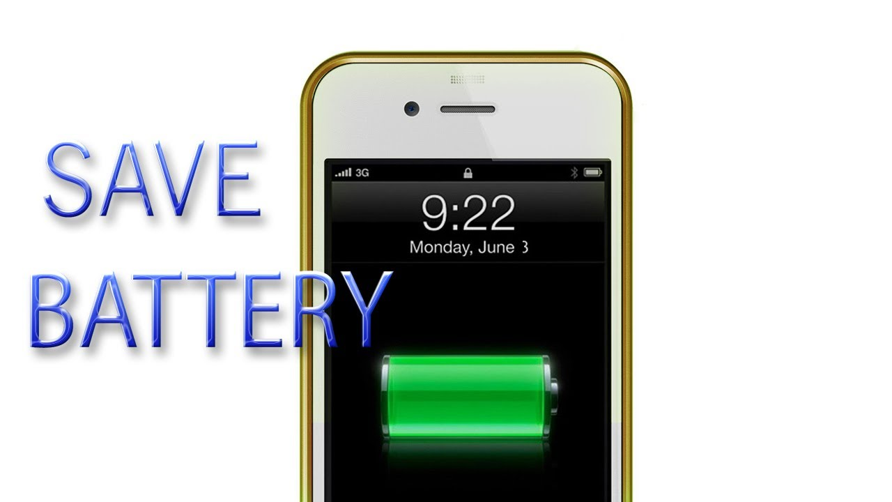 How to: iPhone 5 Save Battery Life (easy steps)