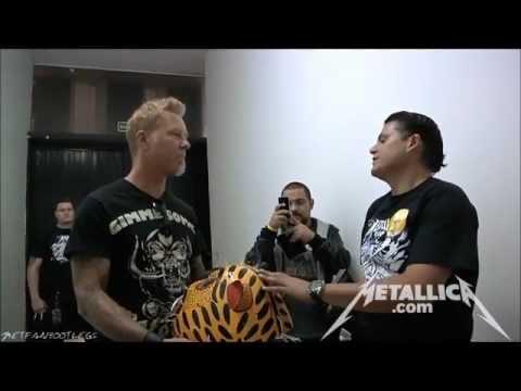 Meet and greet mexico city july 30 2012 metallica video fanpop metallica wallpaper m4hsunfo