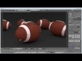 Blender 3D: How to model and texture a realistic Football