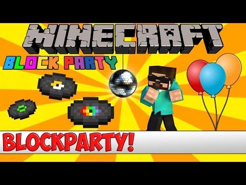 Minecraft Bukkit Plugin - Block Party - Tutorial