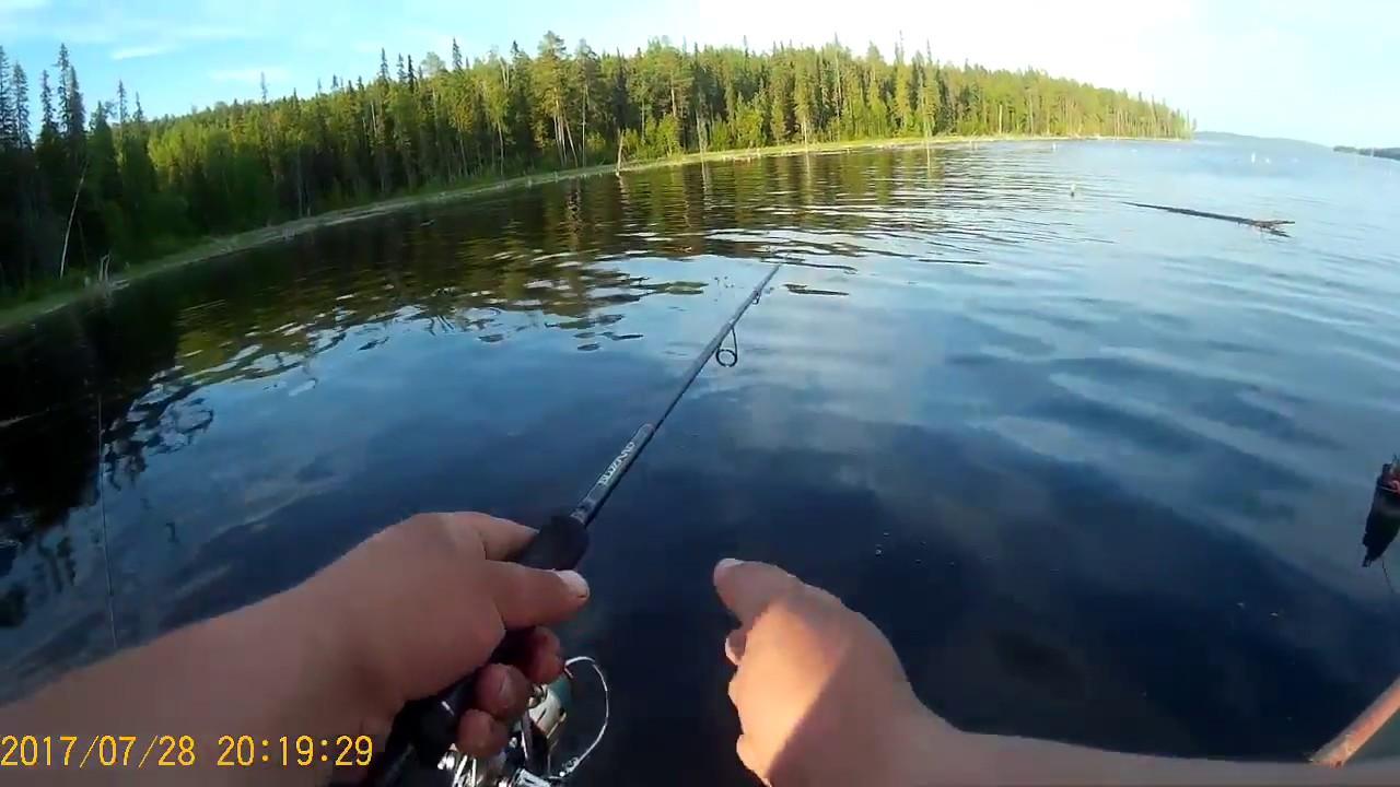 рыбалка север пяозера