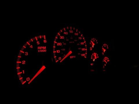 REMAKE VIDEO: LED Swap - Instrument Cluster GMT 800