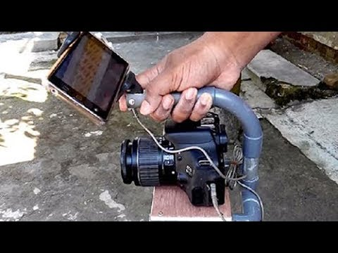 How to make a Camcorder Stabilizer at home