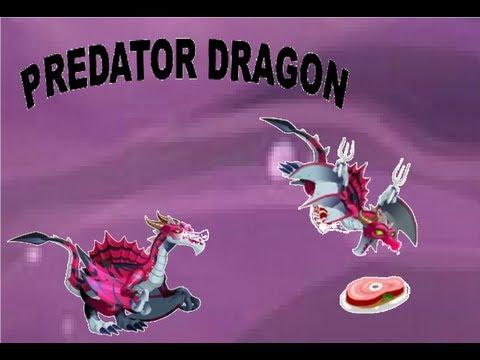 Predator Dragon - Dragon city