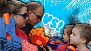 Nerf War:  Parents vs Kids 3 We Read Your Comments!