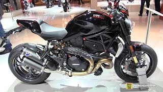 2016 Ducati Monster 1200R with Ducati Performance Accessoires - Walkaround - 2015 EICMA Milan