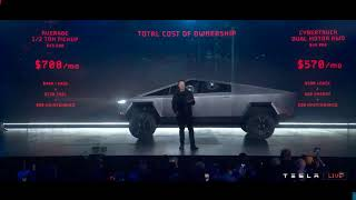 WATCH LIVE! Elon Musk presents the new Tesla Cybertruck Launch
