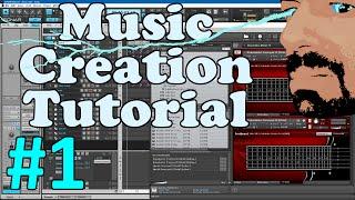 Sonar Platinum - HOW I CREATE MUSIC IN SONAR PLATINUM - Music Creation Tutorial Part 1