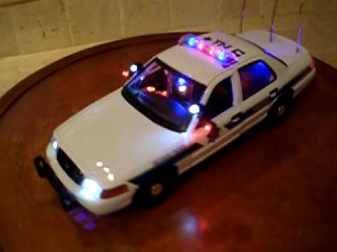 1/18 Police Arizona DPS Highway Patrol Strobe Lights @ Siren