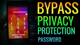 Remove Privacy Protection Password (Anti Theft) EASILY