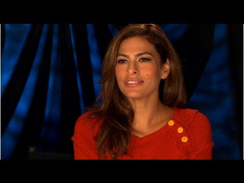 Eva Mendes Gets Shy and Giggly Talking About Ryan Gosling on Ellen