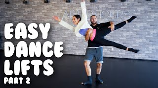 Learn 5 Simple Dance Lifts & Partnering I Tutorial with @MissAuti