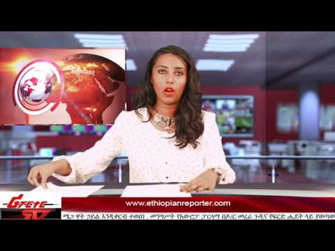 ETHIOPIAN REPORTER TV |  Amharic News 05/20/2017