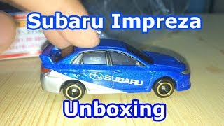 Tomica Toy Car Unboxing | Subaru Impreza WRX STI 4door Group R4