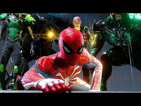PS4 Spider-Man Vs. Shocker Boss Fight Open-World Gameplay Walkthrough Demo (E3 2018)