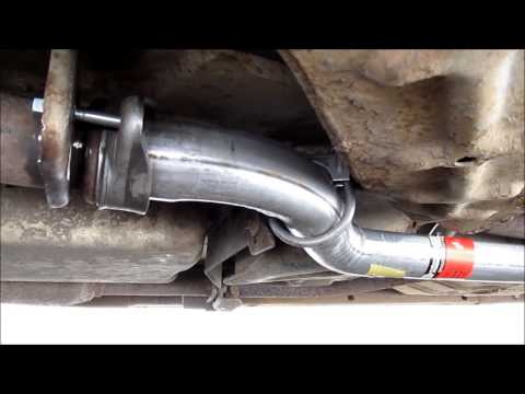 1994 Chevy Caprice Intermediate Exhaust Pipe replacement (flange)