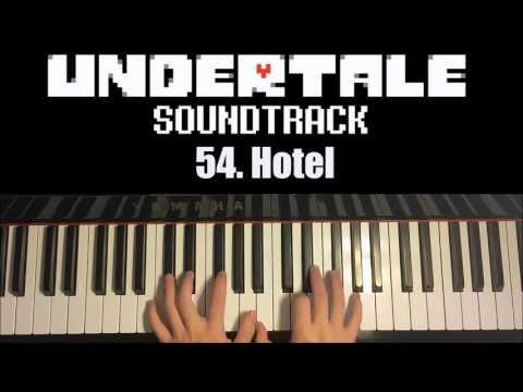 Misc Computer Games - Undertale - Hotel