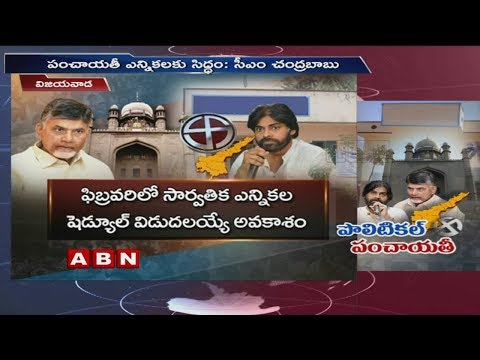 We Are Ready For Panchayat Elections In Ap Says CM Chandrababu Naidu