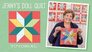 Learn How to Make Jenny's Doll Quilt!