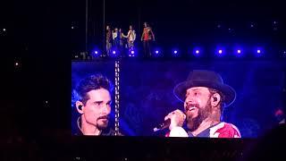 Backstreet boys -  i'll never break your heart #sportpaleis Antwerpen/Belgium 22-05-19 DNATOUR