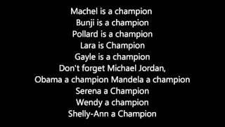 download lagu Dj Bravo's  Champion Lyrics On Screen gratis
