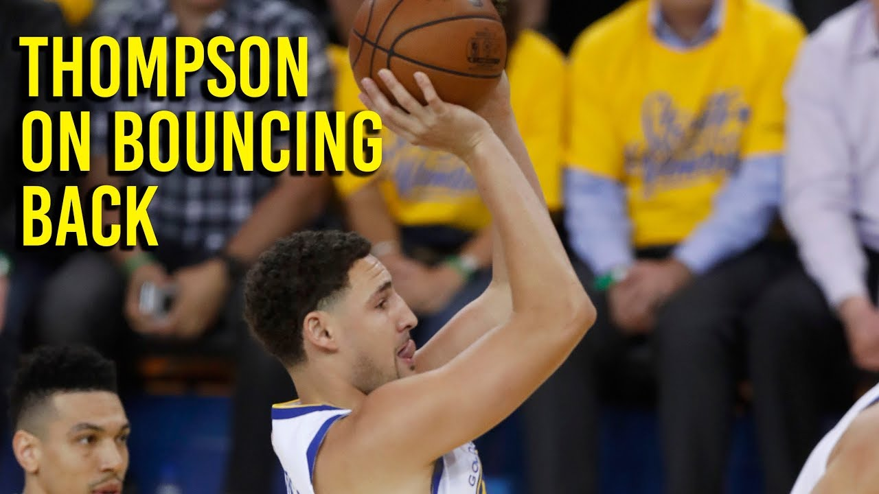 NBA Playoffs: Thompson on bouncing back in game 5 against Spurs