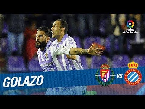 Golazo de Daniele Verde (1-1) Real Valladolid vs RCD Espanyol