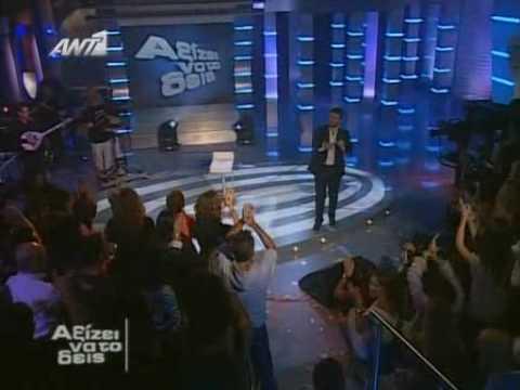 Giannis Ploutarxos - Ax aggele mou Live - bulgarian subs