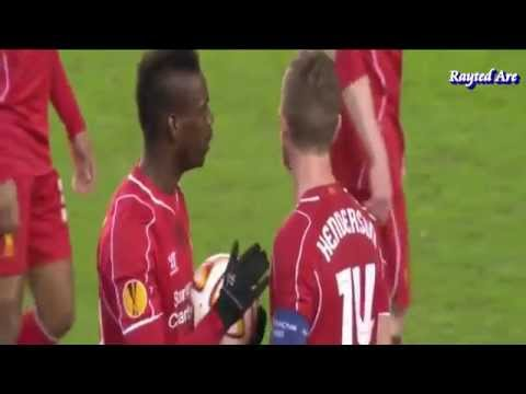 Liverpool players reaction to Mario Balotelli's goal vs Besiktas