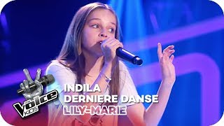 Indila Dernière Danse Lilly Marie Blind Auditions The Voice Kids 2018 Sat 1