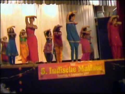 Bollywood-Arts Indische Matinee TanzShow in Hamburg Deutschland...