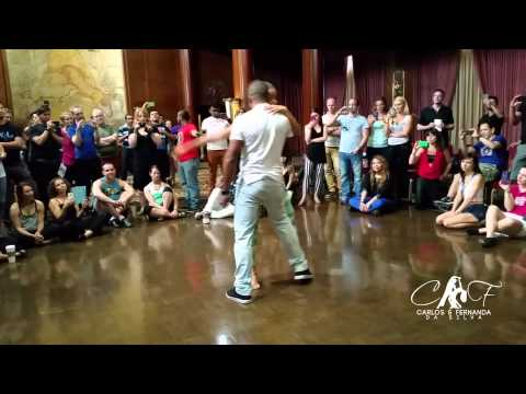 Carlos and Fernanda - Counter Balance Class at L.A Zouk Congress - Music We can make love by SoMo