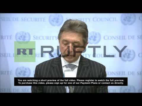 USA: Ukraine tells UN Russian forces on their soil