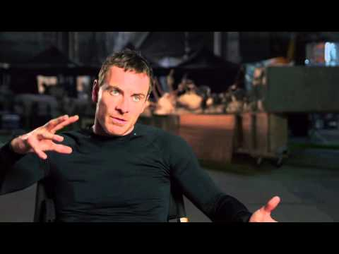 "X-Men: Apocalypse: Michael Fassbender ""Magneto"" Behind the Scenes Movie Interview"