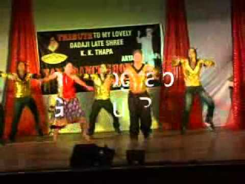 Choreographer Guddu Rana Stage Show koi Jaaye To Le Aaye Ghatak video