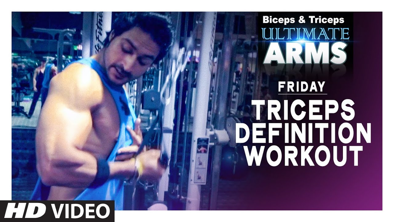 Workout Calendar By Guru Mann : Friday triceps definition workout ultimate arms by