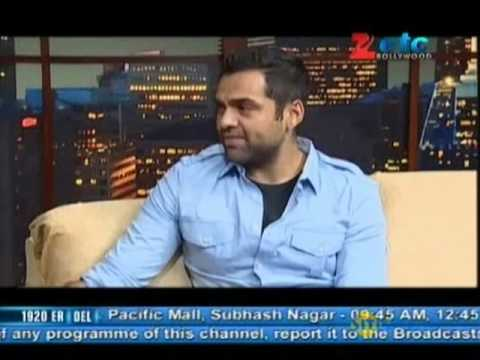 Abhay Deol With Komal Nahta