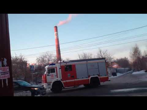 Пожар в ИК №9 г. Омска (30.01.2018)