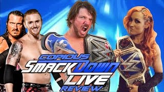 WWE Smackdown 9/13/16 Live REVIEW -CENA RETURNS! Swagger Joins SD & Slater Signs!