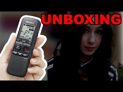 Unboxing : Gravador e Entrevistas em eventos