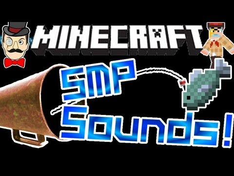 Minecraft SOUNDS in SMP & Fishing Lines - 12w18a !