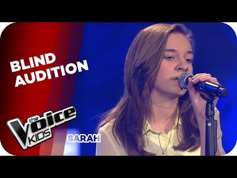 Sarah - Royals (Lorde) | The Voice Kids 2014 Germany | Blind Audition