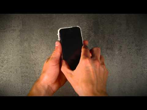 Capa Defender Series iPhone 5 case installation instruction video