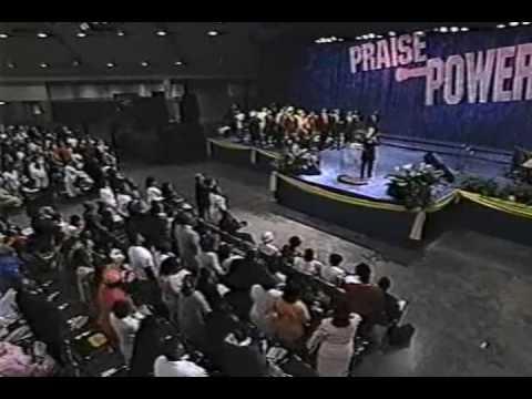 Bishop Clarence McClendon preaching at Praise Power