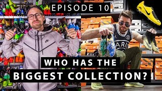$200,000 BOOT COLLECTION | Who has the most boots on YouTube? | EPISODE 10