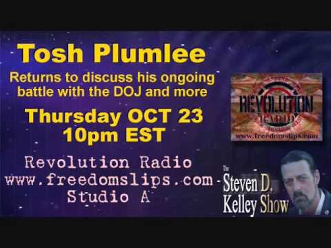 The Steven D Kelley Show 10-23-2014 Tosh Plummlee