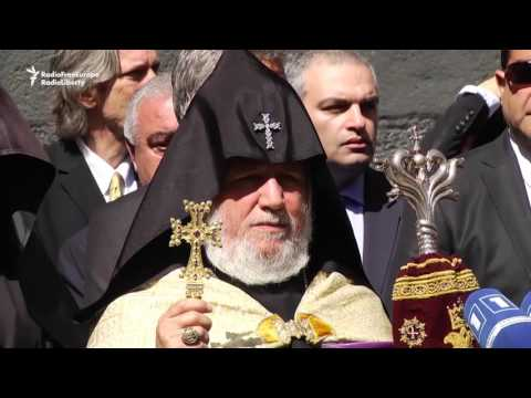 George Clooney Joins Armenian Genocide Commemoration