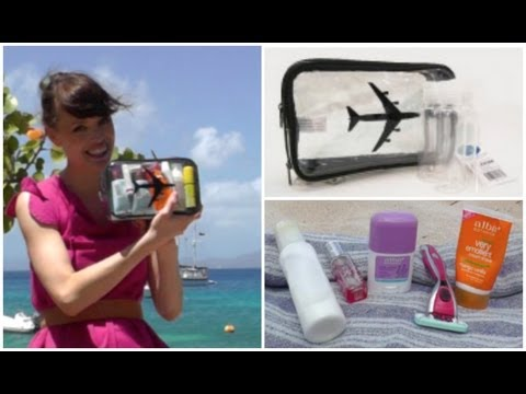How to Pack Your Travel Toiletries Bag?