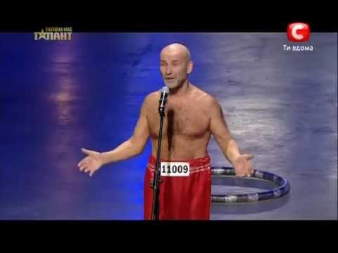 Украина мае талант 5 - Александр Вахламов (обруч)