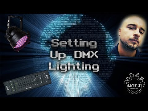 Setting Up DMX Lighting